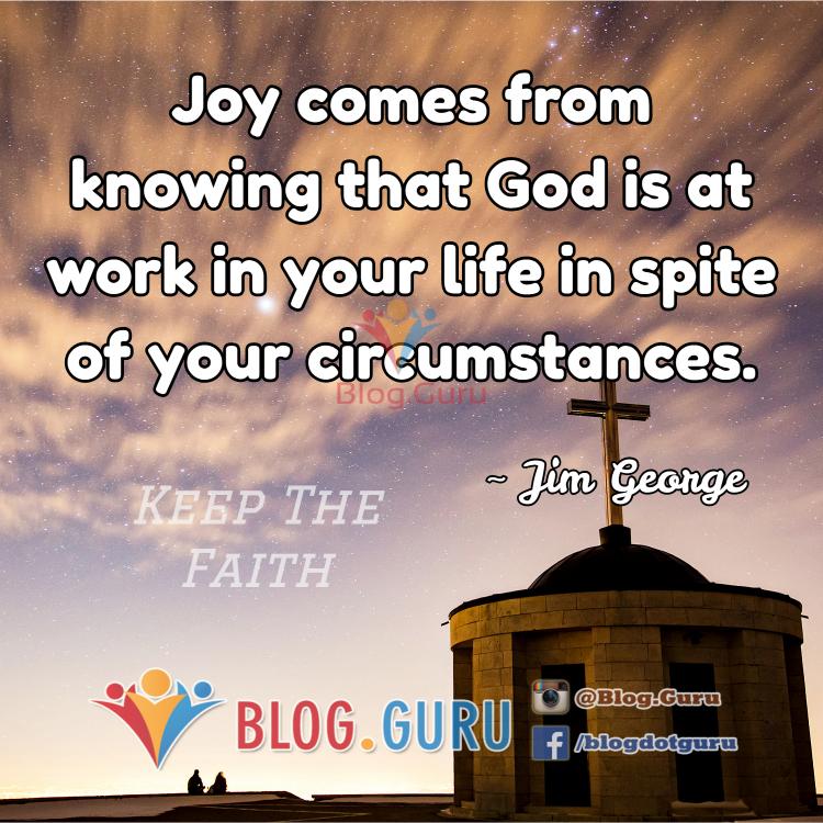 Keep The Faith !